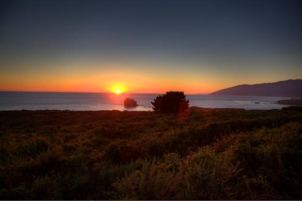 Big Sur Sunset Com » Sunset in Big Sur